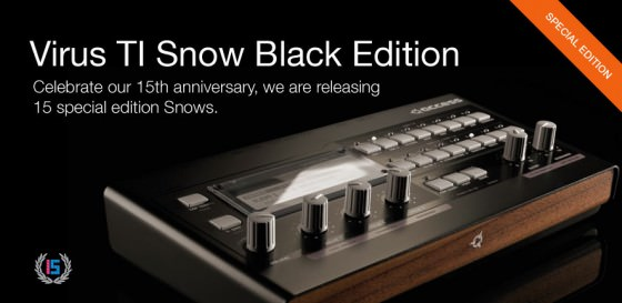 Access Virus TI Snow Black