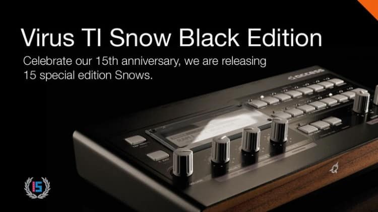 Acces Virus TI Snow Black