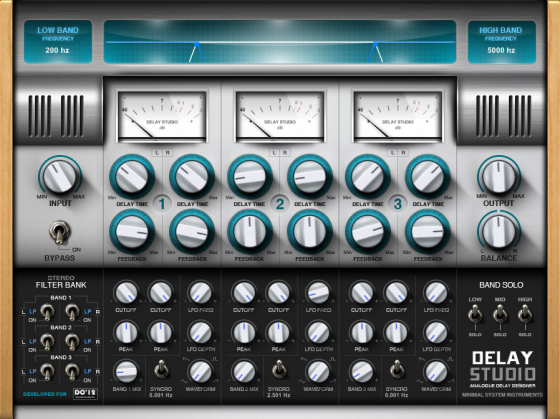 Minimal System Instruments Delay Studio
