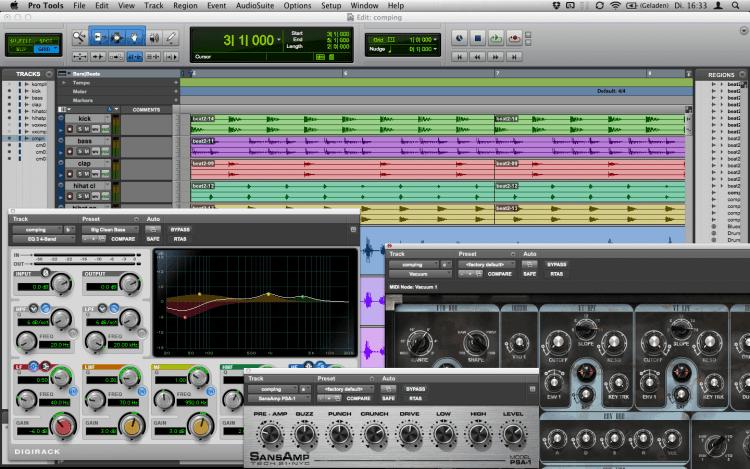 Audio Software zum Musik produzieren