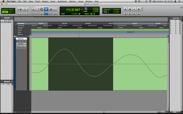 Musik schneiden bei der Audiobearbeitung