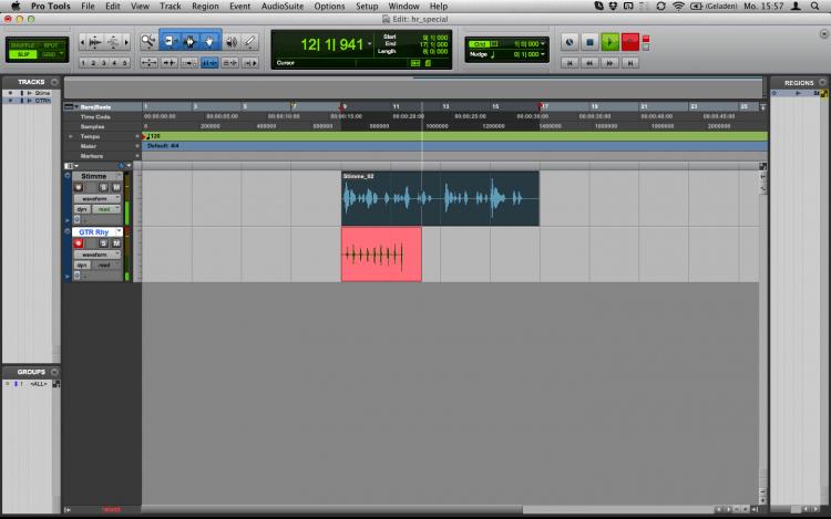 Recording beim E-Gitarre aufnehmen
