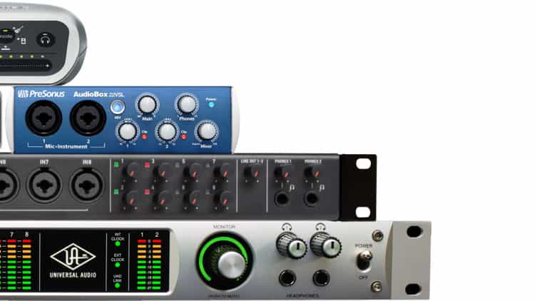 Homerecording Einstieg - Audio Interface
