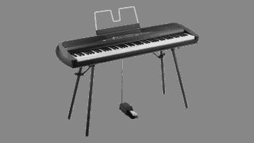Korg SP-280 Digitalpiano schwarz