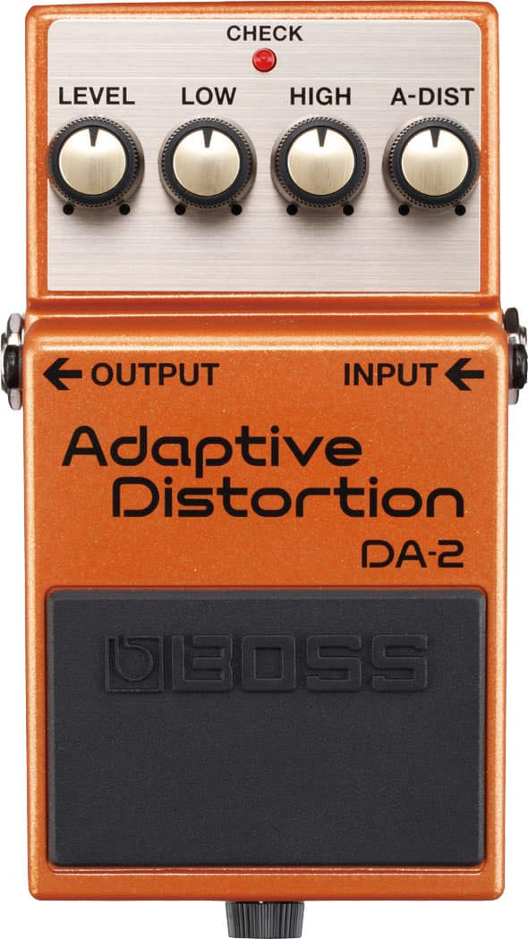 Neu: BOSS DA-2 Adaptive Distortion