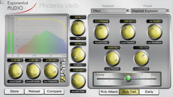 Exponential Audio Phoenix Verb Testbericht