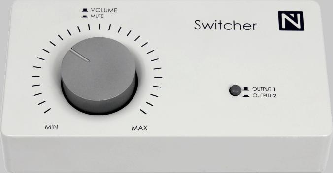 Nowsonic Switcher zum Lautsprecher-Vergleichshören