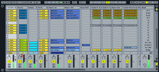 Ableton Live 9 Tutorial - Songs dynamisch mixen
