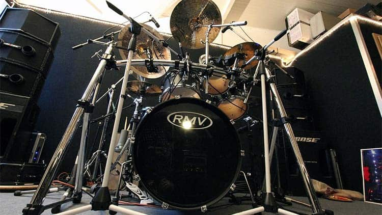 Mikrofonierung Schlagzeug