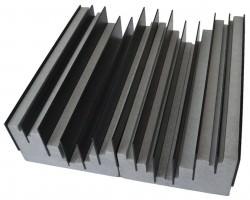 Akustikelemente - Eindimensionaler Diffusor