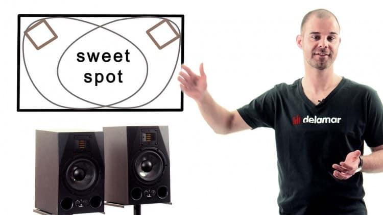 Gute Lautsprecher  im Sweet Spot