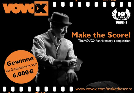 Make the Score! VOVOX sucht den besten Soundtrack