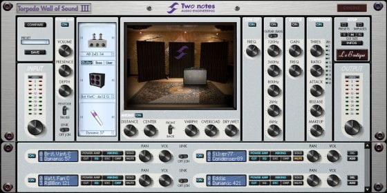 Two Notes Torpedo Wall of Sound III