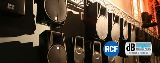 dbTechnologies & RCF eröffnen Showroom für Beschallungstechnik