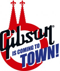 Gibson is coming to town!