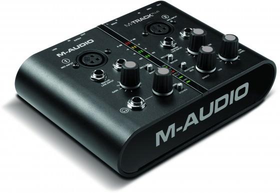 M-Audio M-Track Plus Testbericht