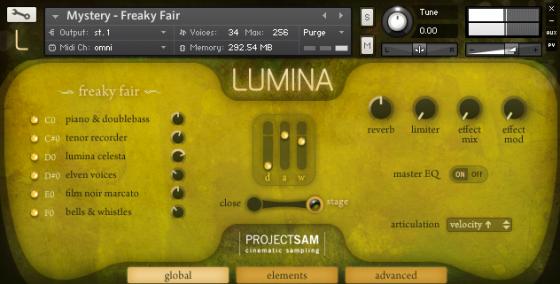 ProjectSAM Lumina
