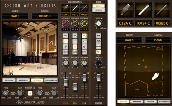 Universal Audio Ocean Way Studios Plug-In
