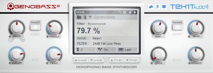Tek'it Audio Genobazz - Free Soft Synths