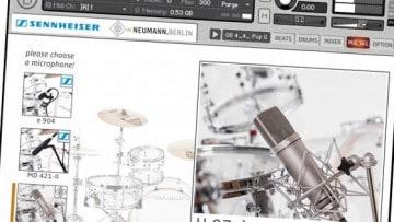 Freeware: Sennheiser DrumMic'a