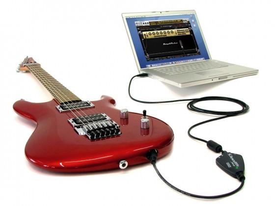 Audio Interface Gitarre
