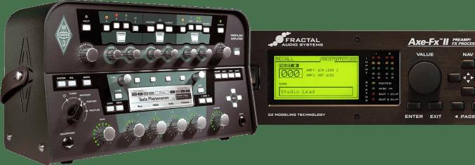 Kemper Profiling Amplifier vs. Fractal Axe-FX II
