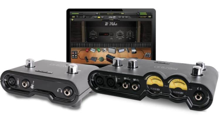 Moderne Klassiker in Sachen Audio Interface (Gitarre) - Line 6 POD Studio UX1 / UX2
