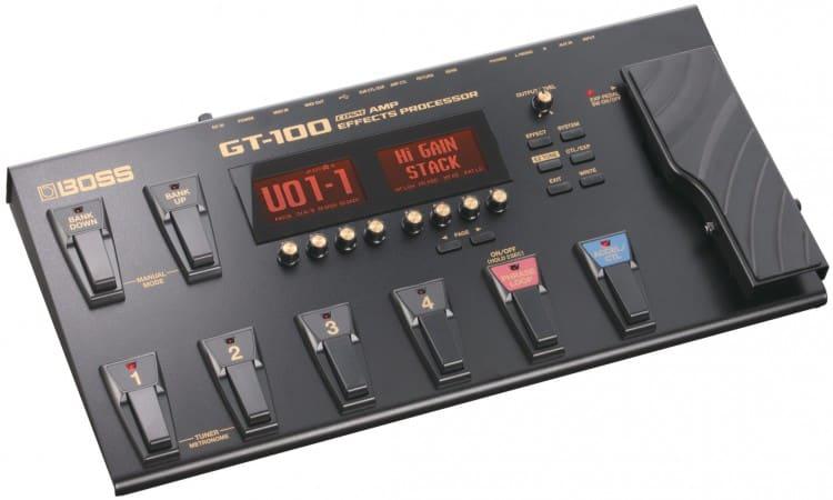 Boss GT-100 - ein bewährtes Gerät zum Amp Modeling - Gitarrenverstärker Wissen