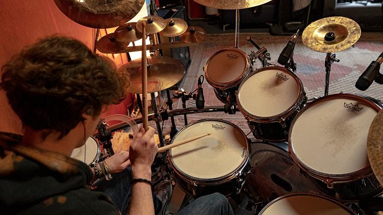 Drum Overhead Mikrofon Position