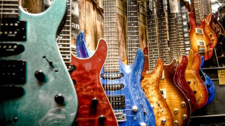 Gitarrenarten