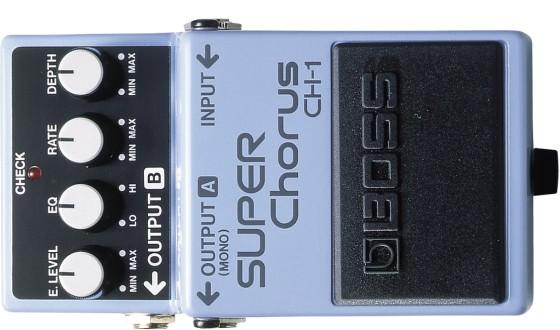 Gitarreneffekte - Chorus