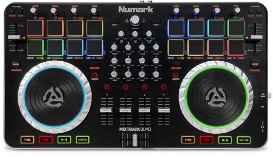 Numark Mixtrack Quad Testbericht