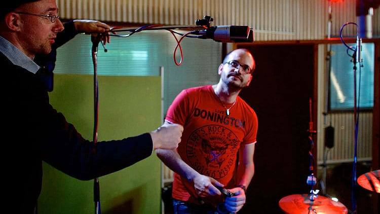 Overhead Mikrofon Position