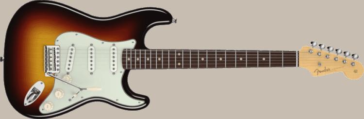 Gitarrenarten Stratocaster