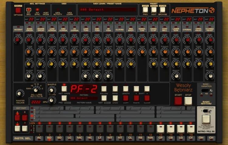 D16 Nepheton - 808-Beats erstellen: Programme dieser Art gibt es einige, aber hier ist das beste Gesamtpaket