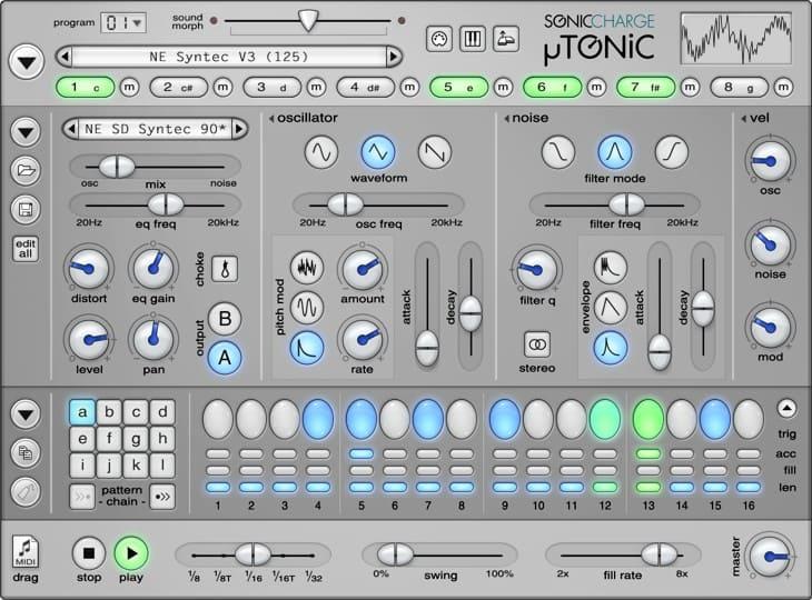 Sonic Charge Microtonic - Ein Klassiker zum Beats erstellen ... Programm ist hier der experimentelle Touch