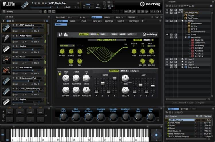 Steinberg HALion - Weit mehr als »nur« eine Beat Maker Software - Sampler & Synthesizer für professionelle Bedürfnisse