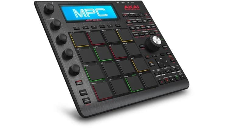 Keine eigenständige Groovebox, aber superschlank und mit bewährten Pads - Akai MPC Studio Black