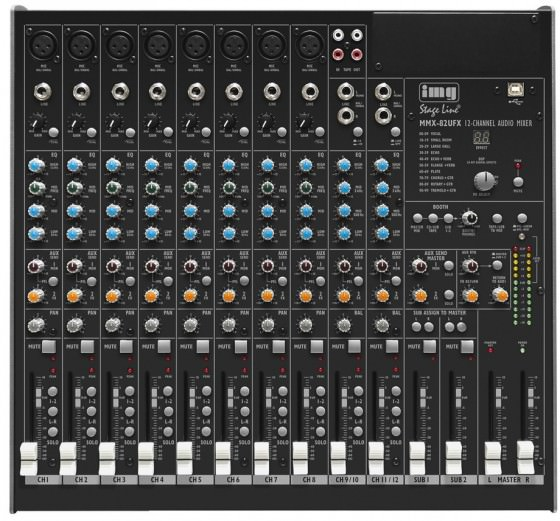 IMG Stage Line MMX-82UFX