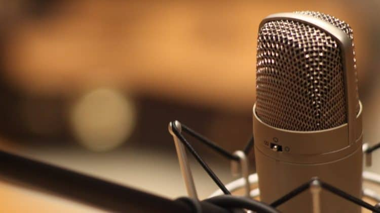 Mikrofon platzieren
