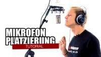 Mikrofon-Platzierung für Voice-Recording