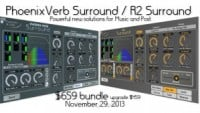 Exponential Audio Phoenix Verb Surround & R2 Surround