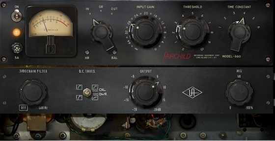 Universal Audio Fairchild Tube Limiter Collection - Fairchild 660