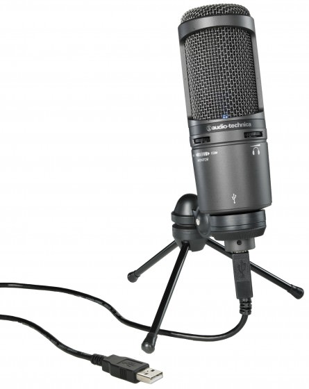 Audio-Technica AT2020USB+ Testbericht