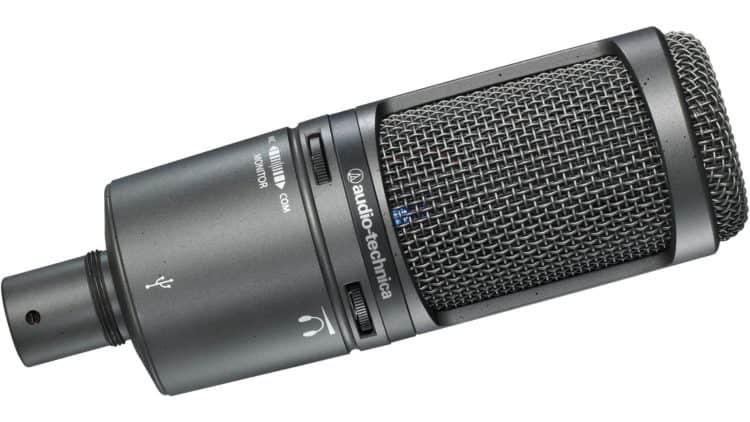 Review des Audio-Technica AT2020USB+ - USB-Mikrofon mit Kondensatortechnik