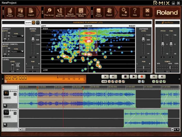Audio-Editor & Mastering Sogtware - Roland R-Mix