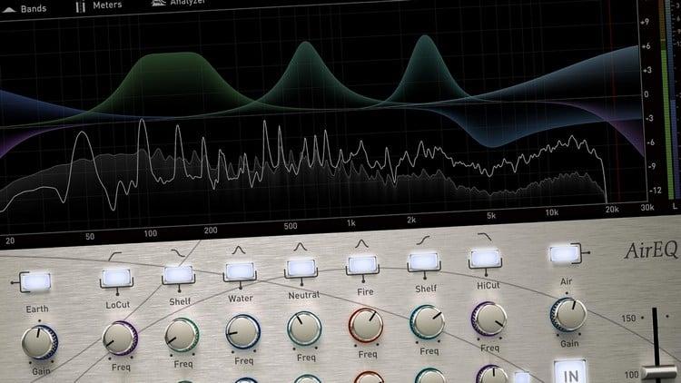 Studio Software für Musik - Equalizer (EQ)