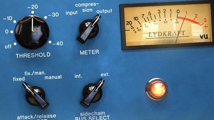 Musiksoftware fürs Studio - Audio-Kompressor