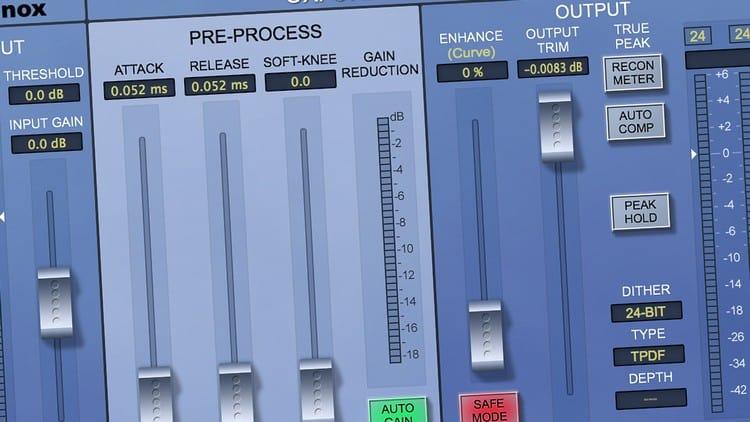 Musikstudio - Software für DAW & Sequenzer - Limiter