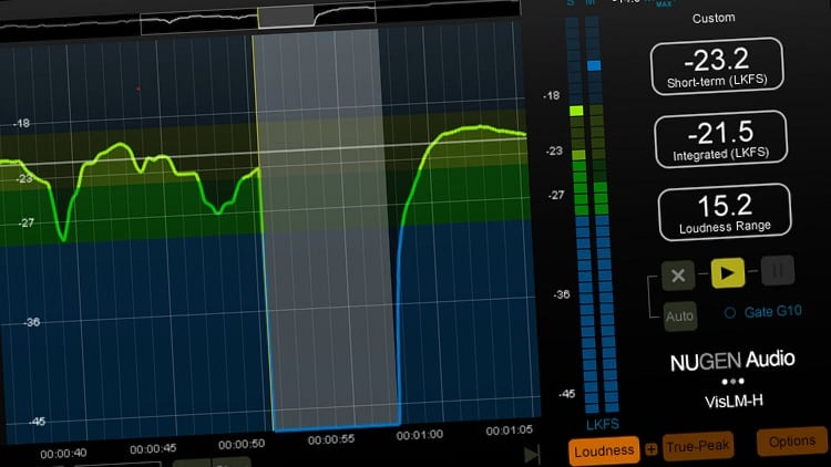 Wichtige Software zum Audio-Mastering - Metering